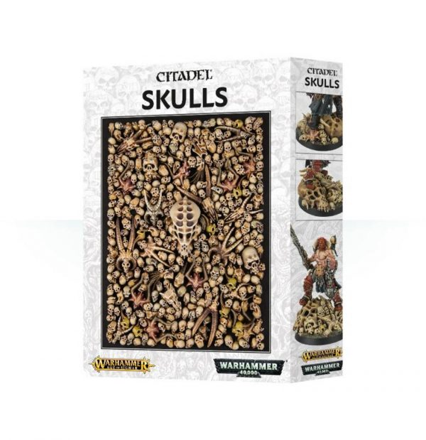 Games Workshop   Games Workshop Bases Citadel Skulls - 99129999012 - 5011921087594