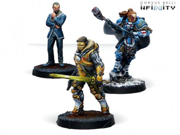 Corvus Belli Infinity  PanOceania Dire Foes Mission Pack Alpha: Retaliation - 280031-0821 - 2800310008219