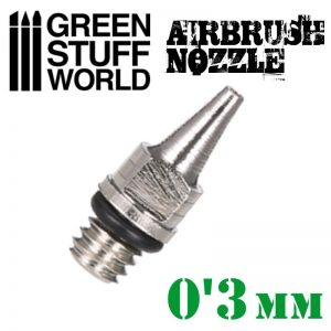 Green Stuff World   Airbrushes & Accessories Airbrush Nozzle 0.3mm - 8436554369294ES - 8436554369294