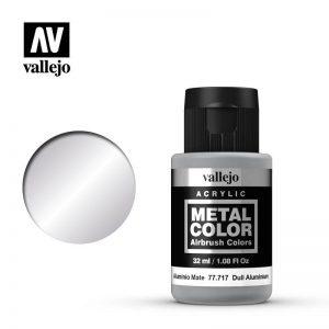 Vallejo   Metal Colour Metal Color - Dull Aluminium 32ml - VAL77717 - 8429551777179