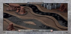 Gale Force Nine   Battlefield in a Box Tar River (6ft) - 30mm - BB603 - 9420020248342