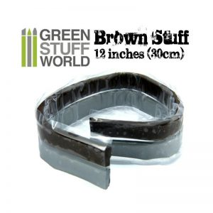 Green Stuff World   Modelling Putty & Green Stuff Brown Stuff Tape 12 inches - 8436554367252ES - 8436554367252