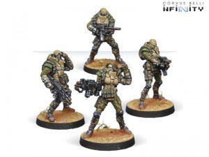 Corvus Belli Infinity  Haqqislam Naffatun (box of 4) - 280474-0532 - 2804740005329