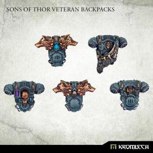 Kromlech   Legionary Conversion Parts Sons of Thor Veteran Backpacks - KRCB281 -