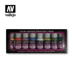Vallejo   Paint Sets Game Color - Extra Opaque Set (x8) - VAL72294 - 8429551722940
