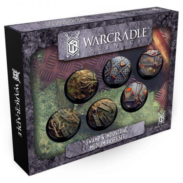 Warcradle   SALE! Swamp & Industrial Medium Bases Set - WSA680018 - 5060504869638