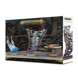 Games Workshop (Direct) Age of Sigmar  Stormcast Eternals Endless Spells: Stormcast Eternals - 99120218032 - 5011921098637