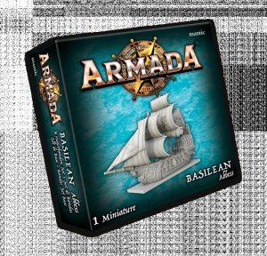 Mantic Kings of War Armada  Basileans Basilean Abbess - MGARB201 - 5060469666549