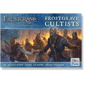 North Star Frostgrave  Frostgrave Frostgrave Cultists - FGVP02 - 9781472819321