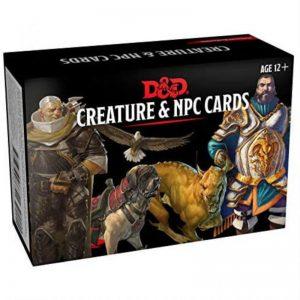 Gale Force Nine Dungeons & Dragons  D&D Decks D&D: Monster Cards NPCs & Creatures - C7641000 - 9780786966943