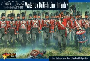 Warlord Games Black Powder  British (Napoleonic) British line Infantry (Waterloo) (24) - WGN-BR-12 - 5060393701910
