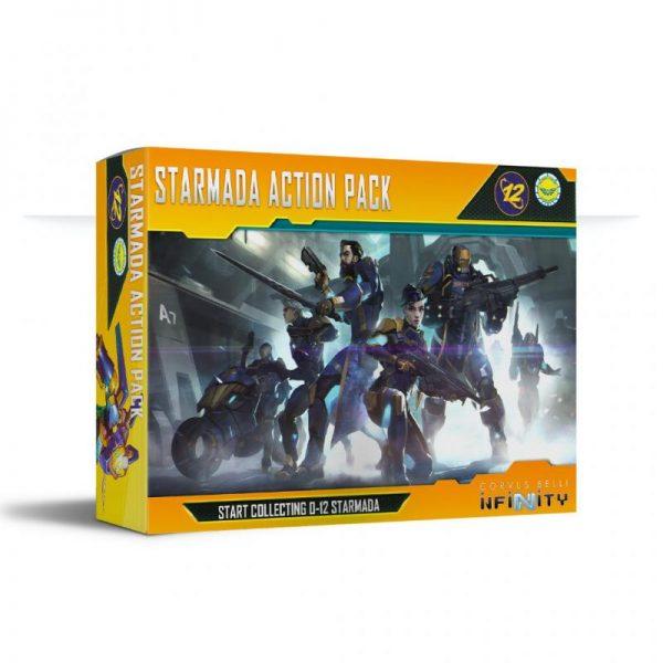 Corvus Belli Infinity  O-12 Starmada Action Pack - 282007-0836 - 2820070008366