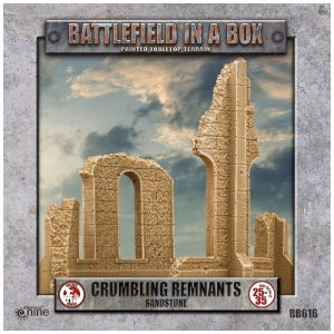Gale Force Nine   Battlefield in a Box Gothic Battlefields - Crumbling Remnants - Sandstone - BB616 - 9420020248953