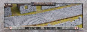 Gale Force Nine   Battlefield in a Box Wartorn Village - Cobblestone Road - BB592 - 9420020247833