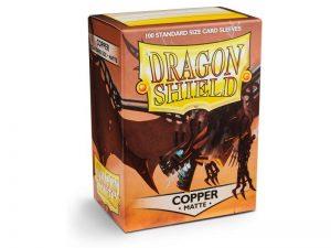 Dragon Shield   Dragon Shield Dragon Shield Sleeves Matte Copper (100) - DS100MC - 5706569110161