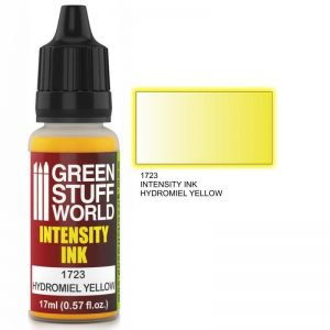 Green Stuff World   Intensity Inks Intensity Ink HYDROMIEL YELLOW - 8436574500820ES - 8436574500820