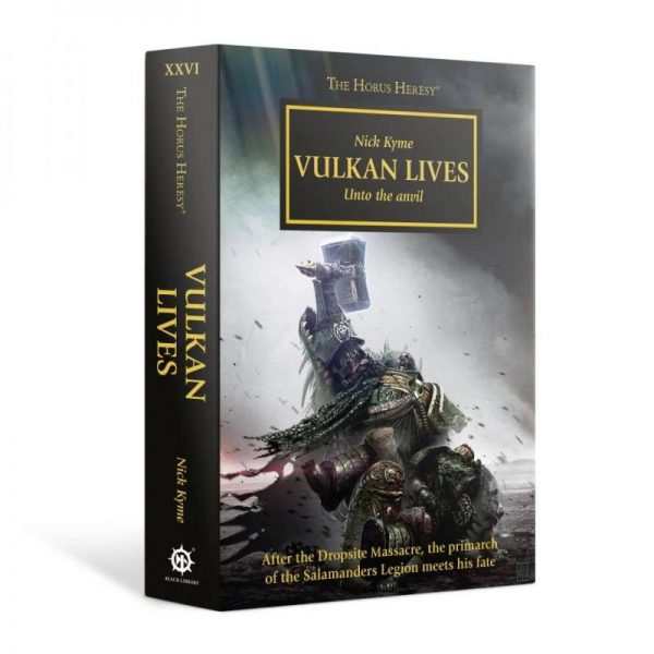 Games Workshop (Direct)   The Horus Heresy Books Vulkan Lives: Book 26 (Hardback) - 60040181059 - 9781849703161