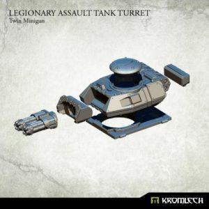 Kromlech   Legionary Conversion Parts Legionary Assault Tank Turret: Twin Minigun - KRVB047 - 5902216116481