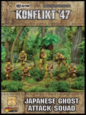 Warlord Games Konflikt '47  SALE! Japanese Ghost Attack Squad - 452211202 - 5060393707950