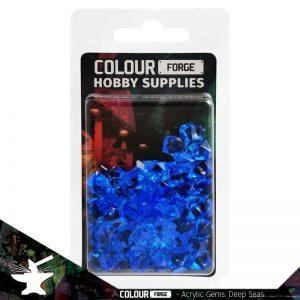 The Colour Forge   Acrylic Gems Acrylic Gems: Deep Seas - TCF-AG-0294 - 5060843100294