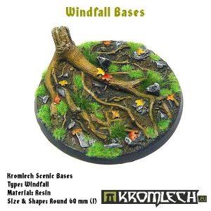 Kromlech   Windfall Bases Windfall round 60mm (1) - KRRB027 -