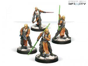 Corvus Belli Infinity  Yu Jing Yu Jing Shaolin Warrior Monks - 280311-0035 - 2803110000353