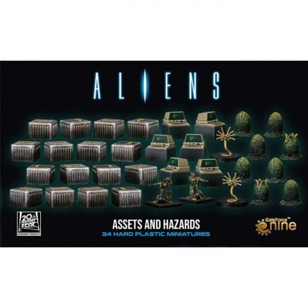 Gale Force Nine Aliens: Another Glorious Day In The Corps  Aliens: Another Glorious Day In The Corps Aliens: Assets and Hazards - ALIENS04 - 9420020252400