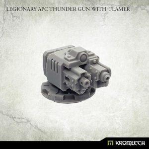 Kromlech   Vehicles & Vehicle Parts Legionary APC Thunder Gun with Flamer - KRVB078 - 5902216118973