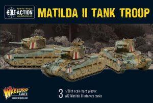 Warlord Games Bolt Action  Great Britain (BA) Matilda II troop - 402011016 - 5060572502260