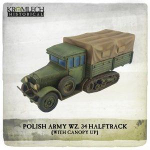 Kromlech   Kromlech Historical Polish Army wz.34 Half Track - KHWW2032 - 5902216118805
