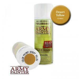 The Army Painter   Spray Paint AP Spray: Desert Yellow - APCP3011 - 2540101130117