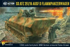 Warlord Games Bolt Action  Germany (BA) Sd.Kfz 251/16 Ausf D Flammenpanzerwagen - WGB-WM-513 - 5060393702092