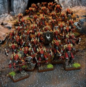 Mantic Kings of War  Forces of the Abyss Lower Abyssals Horde - MGKWA102 - 5060208868487