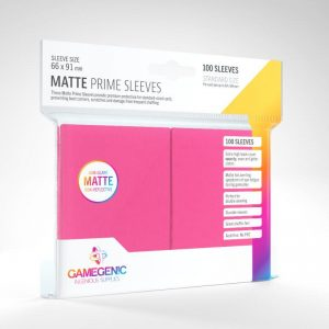 Gamegenic   SALE! Gamegenic Matte Prime Sleeves Pink (100 pack) - GGS11036ML - 4251715402559