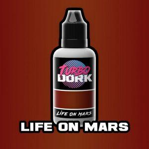 Turbo Dork   Turbo Dork Life On Mars Metallic Acrylic Paint 20ml Bottle - TDLOMMTA20 - 631145994734
