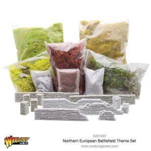 Warlord Games   Basing Kits Northern European Battlefield Theme Set - 842610001 - 5060393704713