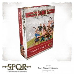 Warlord Games SPQR  SPQR SPQR: Gaul Tribesmen Slingers - 152214004 - 5060572504448