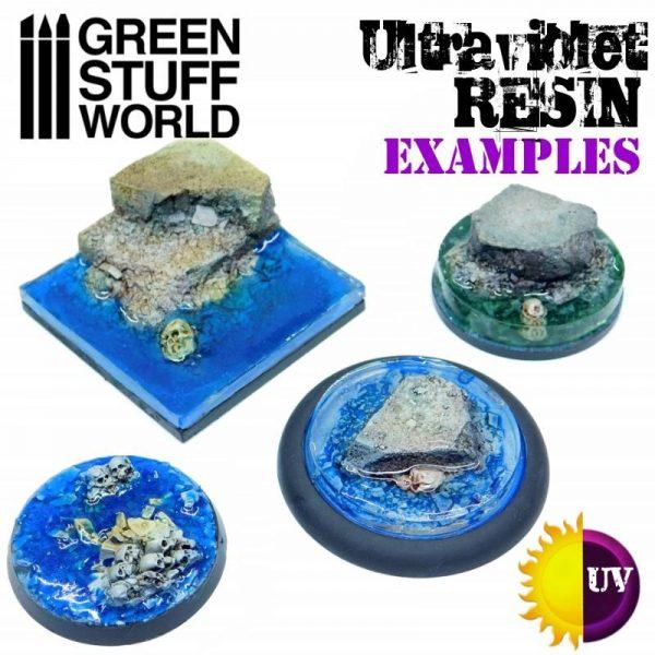 Green Stuff World   Ultraviolet Resin UV Resin 30ml - Water Effect - 8436574503791ES - 8436574503791