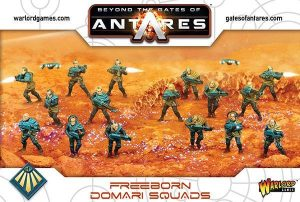 Warlord Games Beyond the Gates of Antares  SALE! Freeborn Domari Squad - 502014001 - 5060393706236