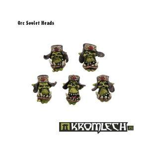 Kromlech   Orc Conversion Parts Orc Soviet Heads (10) - KRCB074 - 5902216110724