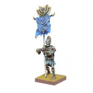 Mantic Kings of War  Empire of Dust Empire of Dust Revenant Champion (or Army Standard Bearer) - MGKWT202 - 5060469660257