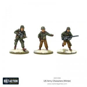 Warlord Games Bolt Action  United States of America (BA) US Army Characters (Winter) - 403013006 - 5060572500495