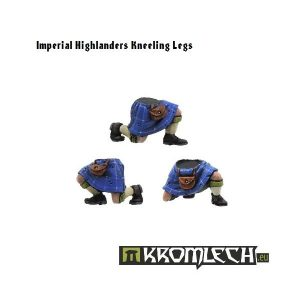 Kromlech   Imperial Guard Conversion Parts Highlanders Kneeling Legs (6) - KRCB053 - 5902216110519