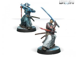 Corvus Belli Infinity  Non-Aligned Armies - NA2 Miyamoto Mushashi (Aristeia! Outfit) - 280721-0589 - 2807210005898