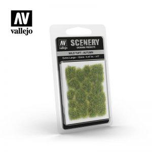 Vallejo   Vallejo Scenics AV Vallejo Scenery - Wild Tuft - Autumn, XL: 12mm - VALSC423 - 8429551986212