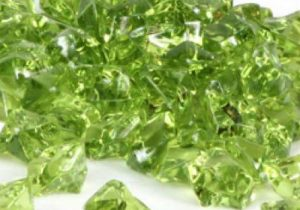 Outpost   Acrylic Gems Olive Green Acrylic Gems (20) - OPG018 -
