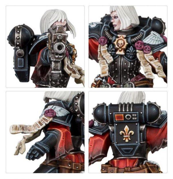 Games Workshop (Direct) Warhammer 40,000  Adepta Sororitas Sister Tariana Palos - 99120108041 - 5011921131242