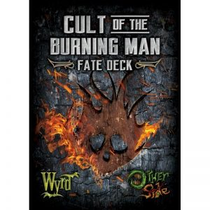 Wyrd The Other Side  Cult of the Burning Man Cult of the Burning Man Fate Deck - WYR40006 - 812152030015