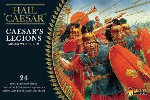 Warlord Games Hail Caesar  SALE! Caesarian Romans with Pilum (24) - WGH-CR-02 - 5060200845691