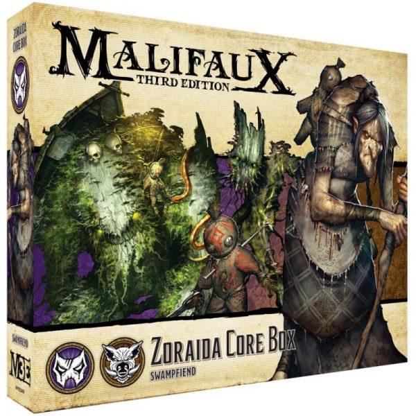Wyrd Malifaux  Neverborn Zoraida Core Box - WYR23419 - 812152032521